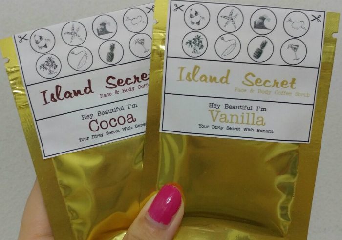 image review Island Secret Bali Face and Body Scrub