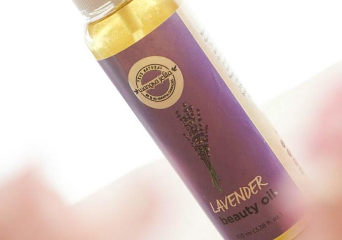 gambar review ke-1 untuk Wangsa Jelita Beauty Oil Lavender