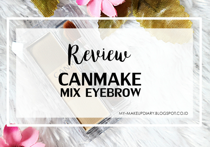 image review Canmake Mix Eyebrow Yellow Brown