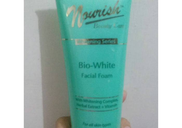 image review Nourish Beauty Care Facial Foam Whitening Series