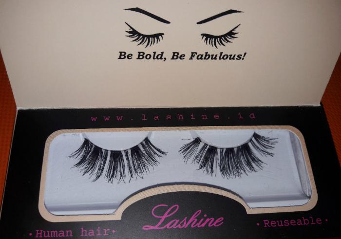 gambar review ke-1 untuk Bulu Mata Premium Lashine Griselle