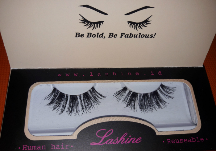 image review Bulu Mata Premium Lashine Griselle