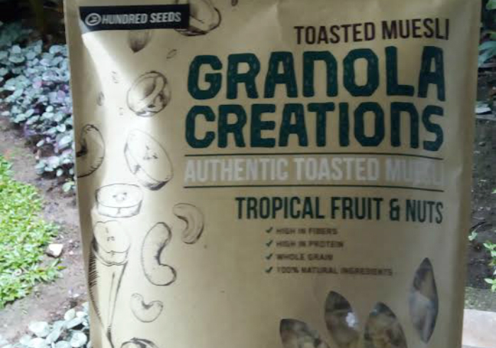 image review Granola Creations Toasted Muesli Tropical Fruits and Nuts