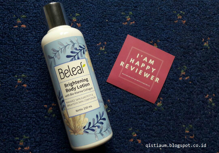 image review Beleaf Brightening Body Lotion