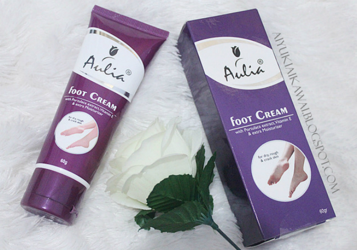 image review Krim Kaki Aulia Foot Cream