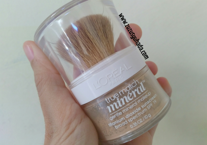 gambar review ke-1 untuk L'oreal True Match Mineral Foundation Natural Beige