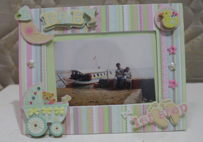 gambar review ke-1 untuk Enogreeting DIY Photo Frame