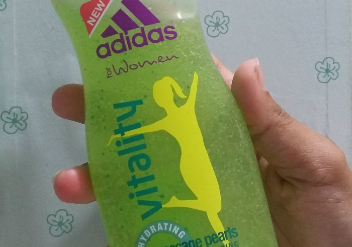 image review Adidas Vitality Massage Pearls Energizing Shower Gel