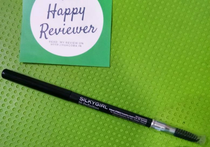 gambar review ke-1 untuk Silky Girl Hi-Definition Brow Liner Soft Black