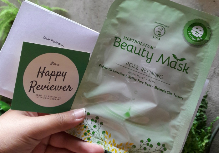 image review Beauty Mask Pore Refining