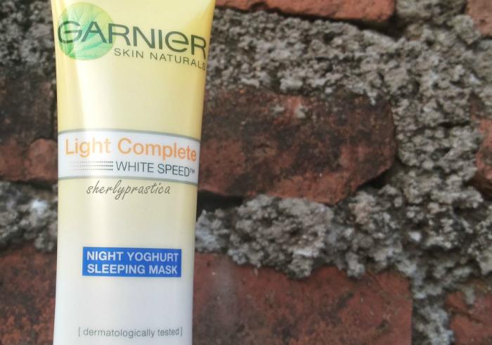 gambar review ke-1 untuk Garnier New Light Complete Yoghurt Sleeping Mask