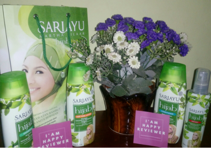 image review Sariayu Paket Hijab Hair Care Series