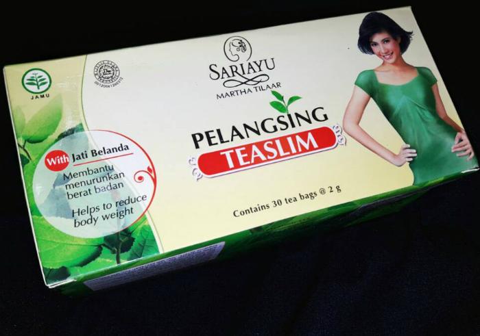 image review Sariayu Teaslim Pelangsing