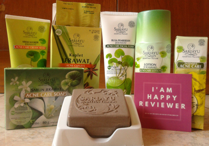 image review Sariayu Paket Acne Series