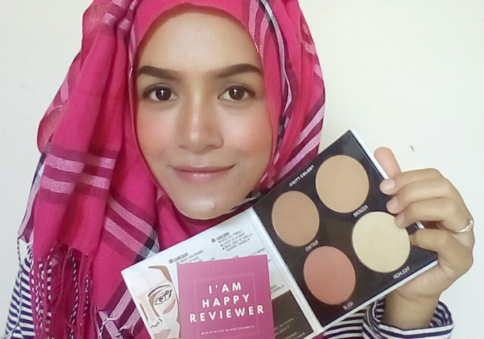 gambar review ke-1 untuk City Color Contour & DeDefine Palette