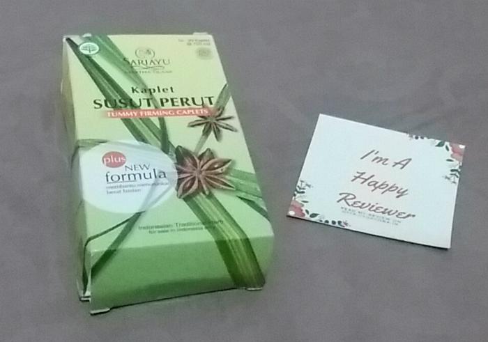 image review Sariayu Kaplet Susut Perut
