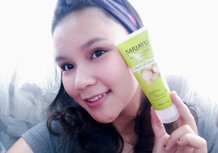 image review Sariayu Putih Langsat Peel Off Mask