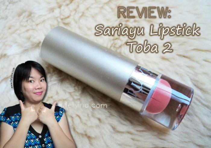 image review Sariayu Lipstick Toba 02