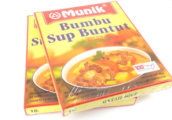 image review Bumbu Munik Sup Buntut