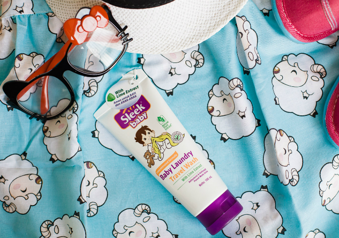 image review Sleek Baby Laundry Travel Wash