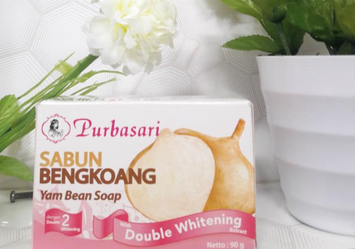 gambar review ke-1 untuk Purbasari Sabun Bengkoang Double Whitening