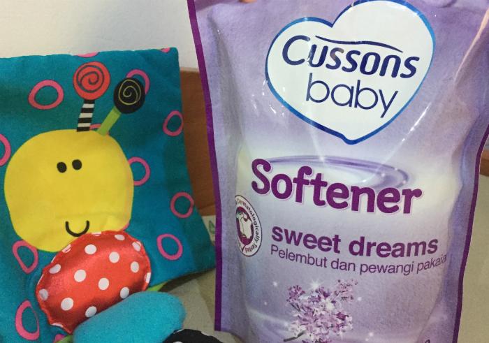 gambar review ke-1 untuk Cusson Baby Sweet Dreams Softener Lavender Scent