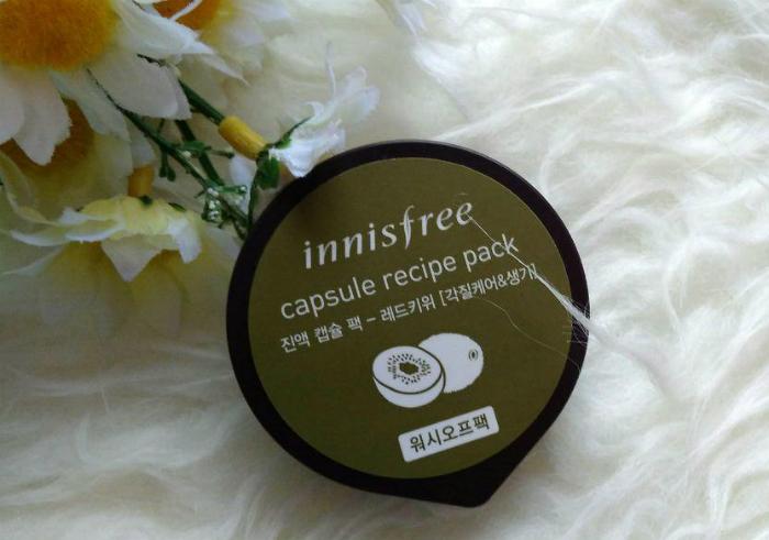 gambar review ke-1 untuk Innisfree Capsule Recipe Pack Red Kiwi