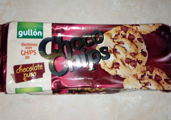 image review Kukis Gullon Choco Chips