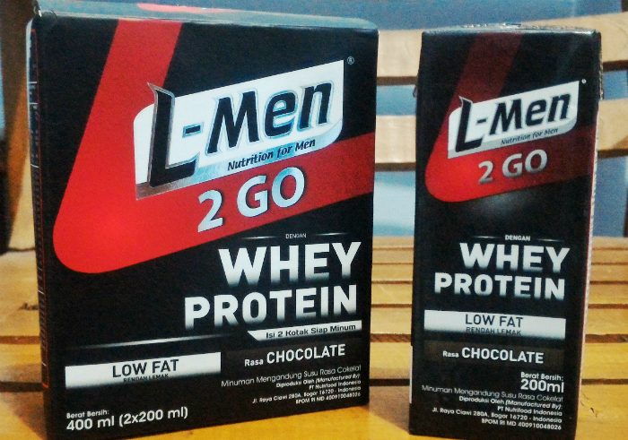 image review L-Men 2 Go Chocolate