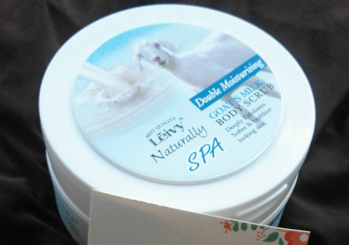 image review Leivy Naturally Body Scrub