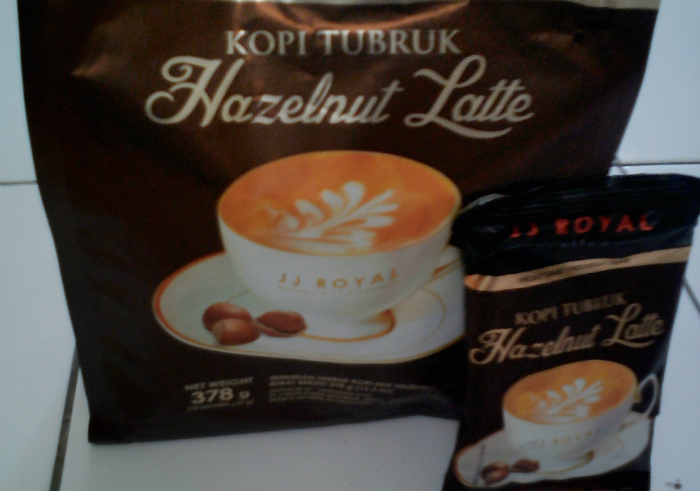 gambar review ke-1 untuk Kopi tubruk JJ Royal Coffee Hazelnut Latte
