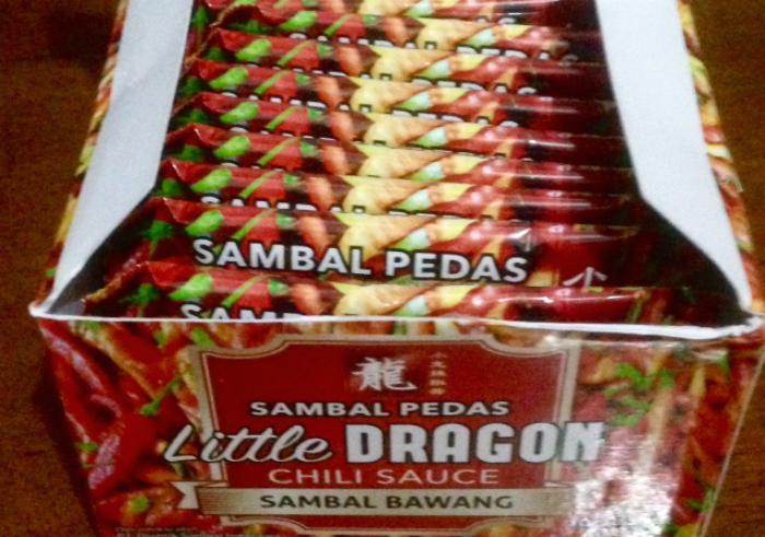 gambar review ke-1 untuk Sambal Pedas Little Dragon Chili