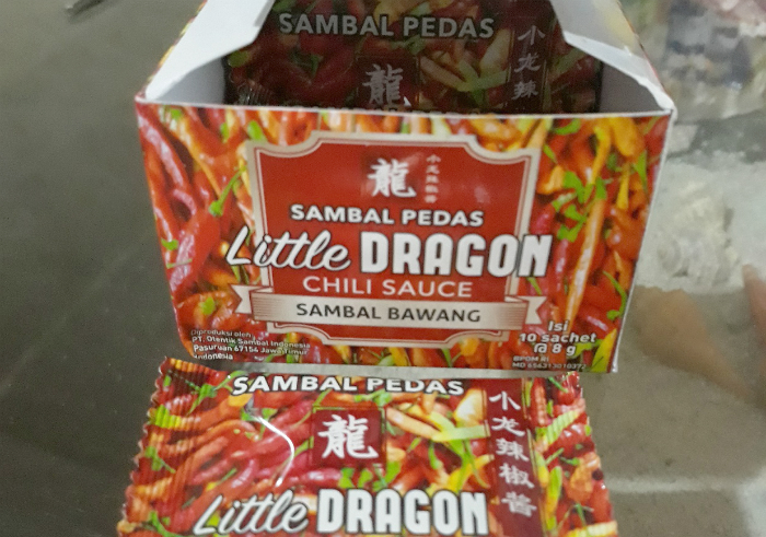 image review Sambal Pedas Little Dragon Chili