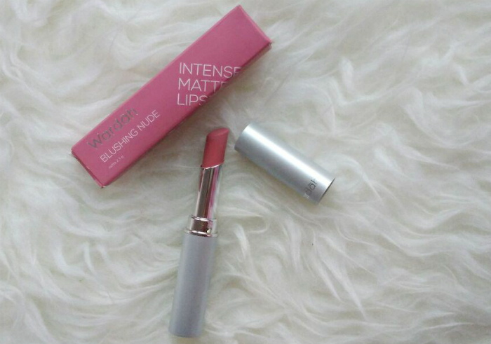 gambar review ke-1 untuk Wardah Intense Matte Lipstick Blushing Nude
