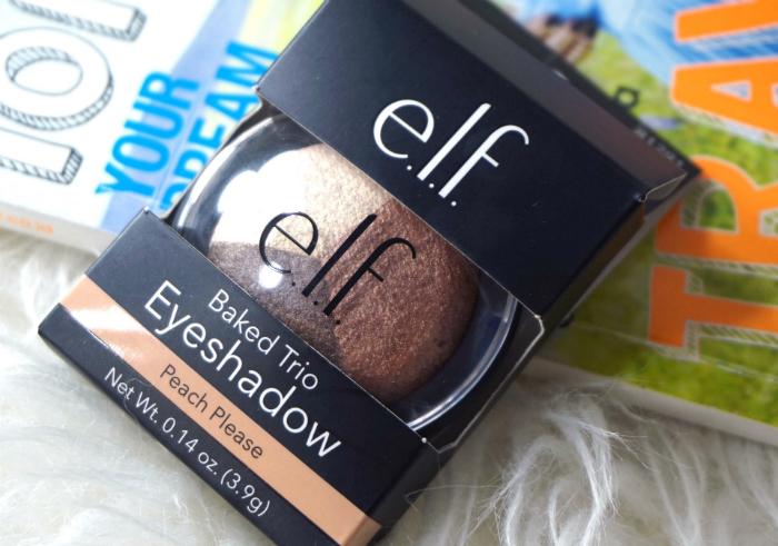 gambar review ke-1 untuk ELF Baked Eyeshadow Trio Peach Please