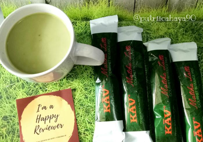 gambar review ke-1 untuk Kav Matcha Latte