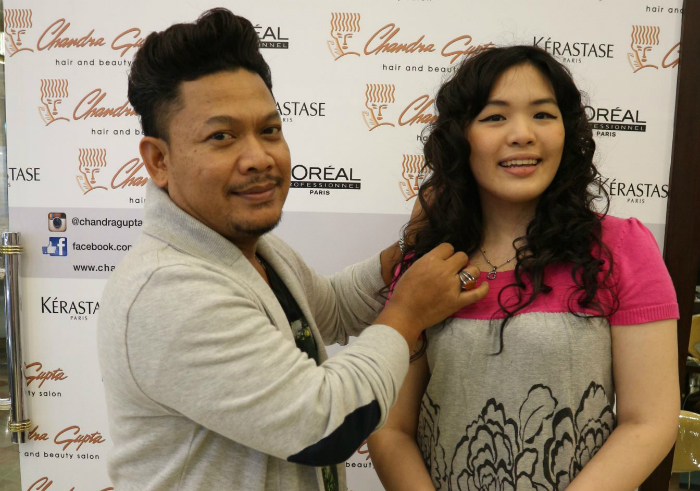 gambar review ke-1 untuk Chandra Gupta Hair & Beauty Salon