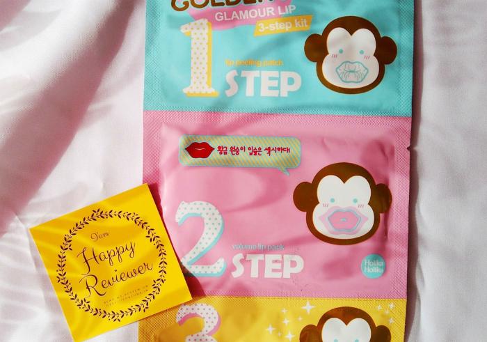 gambar review ke-1 untuk Holika Holika Golden Monkey Glamour Lip
