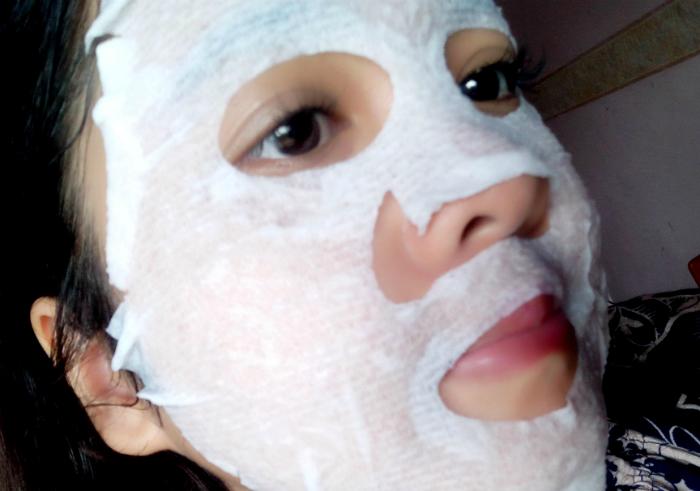 gambar review ke-1 untuk The Saem Natural Tox Carrot Mask Sheet