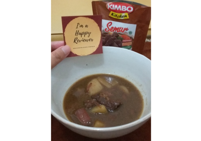 image review Kimbo Kitchen Semur