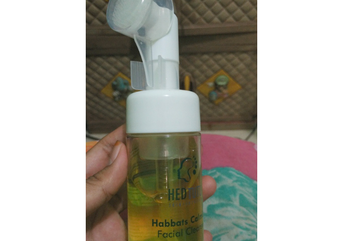 image review Hedtutu Habbats Calming Facial Cleanser