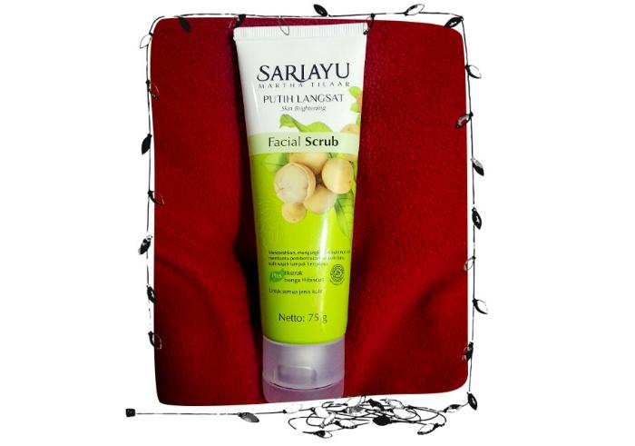 image review Sariayu Putih Langsat Facial Scrub
