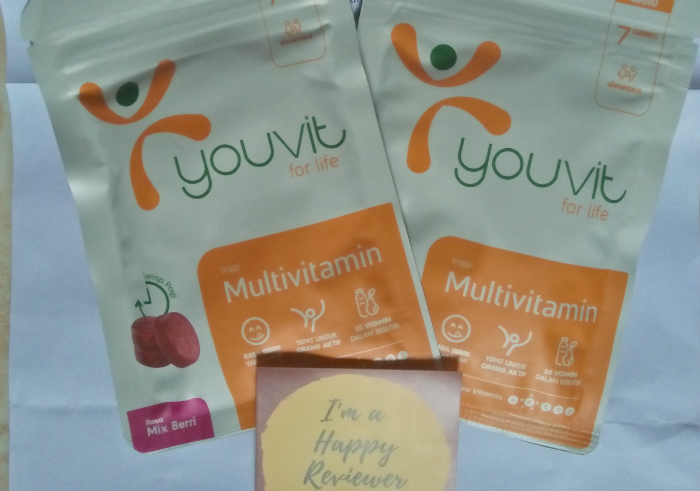 image review Youvit For Life Multivitamin Mix Berri