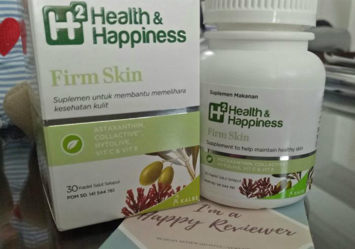 gambar review ke-2 untuk H2 Health & Happiness Firm Skin