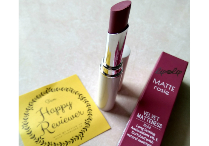 image review Lip On Lip Matte Rosie