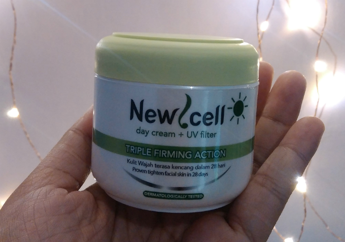 image review New Cell Day Cream Plus UV Filter