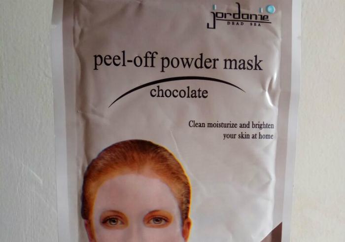 gambar review ke-1 untuk Jordanie Peel Off Powder Mask Chocolate