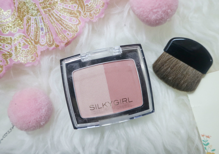 image review SilkyGirl Shimmer Duo Blusher Sunny Glow