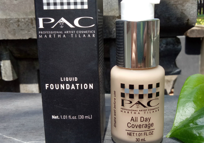 image review PAC Liquid Foundation