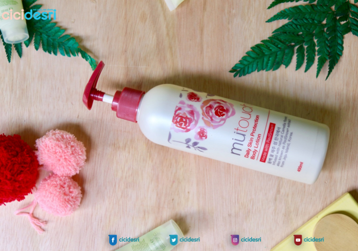 image review Mutouch Daily Skin Protection Body lotion with Redsnow